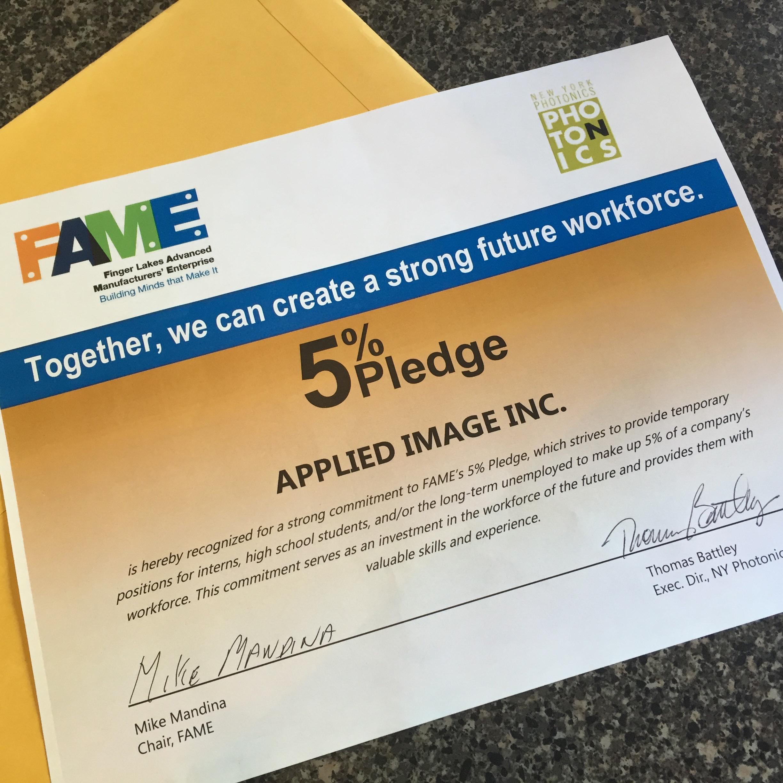The 5% Pledge